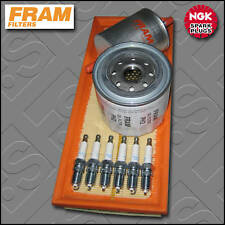 SERVICE KIT FORD MONDEO MK3 3.0 V6 FRAM OIL AIR FUEL FILTERS PLUGS (2003-2007)