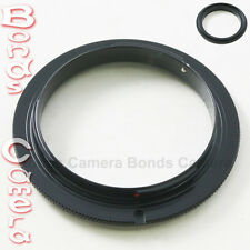 58 MM 58MM Macro Reverse Lens Mount Adapter Ring For Sony Alpha A DSLR camera