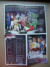 Cinderella - Theatre leaflet flyer - John Partridge + Stephen Mulhern