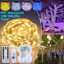 LED Lichterschlauch 10M RGB Lichtschlauch Lichterkette Leiste Innen Außen Deko