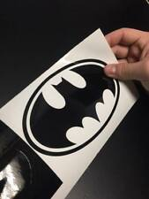 Batman Black and White Vinyl Sticker Decal 4 x 4 Inches
