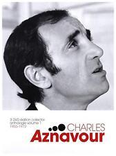 "DVD ""CHARLES AZNAVOUR ANTOLOGÍA VOL. 1"" 1955-1972 - 3 DVD nuevo en blíster"