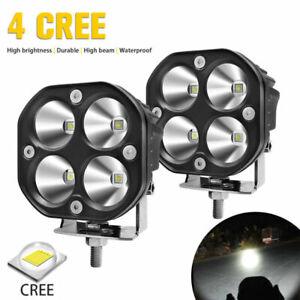 "2X 3"" CREE LED 50W Work Light Spot Lamp Car OffRoad 4X4 Driving Fog Lamp ATV UTV"