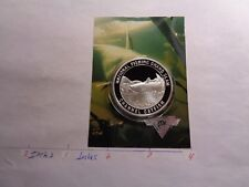 Channel Catfish Fish National Fishing Grand Slam 999 Silver Coin Info Card #C