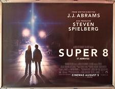 Cinema Poster: SUPER 8 2011 ('Backs' Quad) Elle Fanning JJ Abrams Kyle Chandler