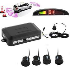4 Capteurs parking Ecran LED voiture Auto Backup Kit Radar Alarme inverse New