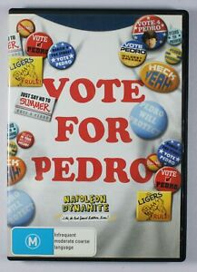 Napoleon Dynamite DVD Vote For Pedro Special Edition TRACKED POST