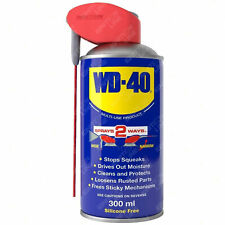 WD-40 Multi Purpose WD40 Lubricant Spray Aerosol Smart Straw Stops Squeaks 300ml