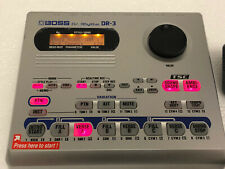 Boss Dr. Rythm DR-3, DR3 Drum Machine Fully Working