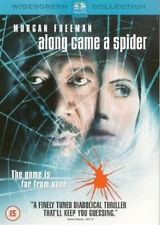 ALONG CAME A SPIDER DVD Morgan Freeman Michael Wincott Lee Tamahori UK New R2