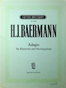 H.J.Baermann, Adagio
