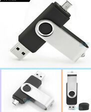 TOP  DUO USB Speicherstick, Micro Flash Drive 8GB, für OTG Handy & Tablet - GRÜN