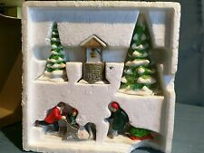 "Dept 56 Heritage Village ""New England Winter Accessory Set"" #6532-3"