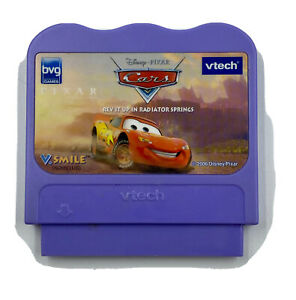 Disney Pixar Cars-Rev It Up In Radiator Springs VTech V.Smile Smartridge