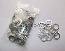 100 STÜCK Aluminiumringe Alu Dichtringe Dichtungen AL 16x22x1,5mm DIN7603 Form A