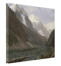 Valley of the Yosemite By Albert Bierstadt Painting Art Paint By Numbers Kit DIY