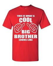 This is what a cool BIG BROTHER Looks Like funny T-SHIRT birthday gift tee