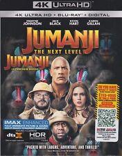 JUMANJI 2 THE NEXT LEVEL 4K ULTRA HD & BLURAY & DIGITAL SET with Dwayne Johnson