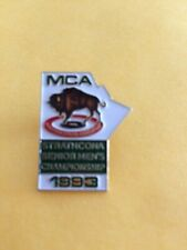 CURLING PIN MCA STRATHCONA SENIOR MEN'S CHAMPIONSHIP 1993