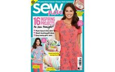 SEW NOW ISSUE 23 MAGAZINE WITH FREE SUMMER SEWING PATTERNS SIMPLE SEW & MCCALLS