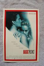 Basic Instinct Lobby Card Movie Poster Michael Douglas