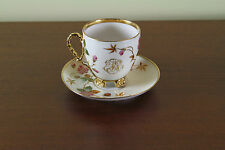 Collector's Tea Cup & Saucer with Initials