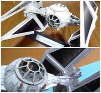 Star Wars TIE interceptor DIY Handcraft PAPER MODEL KIT