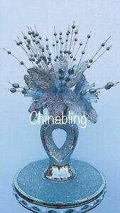 Silver Crush Mosaic Beautiful Vase Mirror Ceramic Vase With Flowers Home Decor
