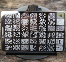 Large Nail Art Image Stamp Template Plates Polish Stamping Manicure Image (D11)