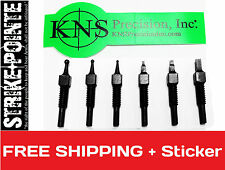 KNS Precision 6 pack Magpul MBUS PRO STEEL Front Sight Post Body Assortment Kit
