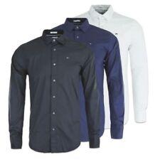 Camisas y polos de hombre de manga larga en azul