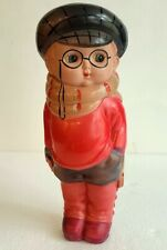 """9"""" tall CELLULOID FIGURE COMIC CHARACTER? ANTIQUE JAPAN EXCELLENT"""