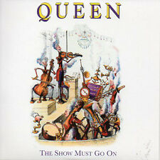 ★☆★ CD Single QUEEN The show must go on  + UK + 2-track CARD SLEEVE  ★☆★