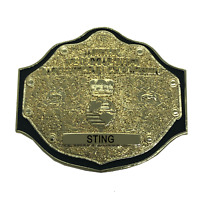 M-09 STING WWE WCW Big Gold Title Championship Belt Pin