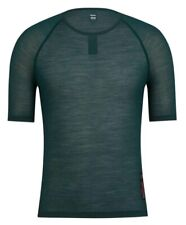 Rapha Merino Mesh SS Base Layer Dark Green BNWT Size M