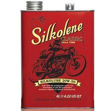 Silkolene Classic Silkolube 20W-50 Mineral Engine Oil - 4L