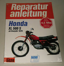 Reparaturanleitung Honda XL 500 S, Baujahre ab 1979