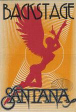 SANTANA 1990-91 Abraxas Tour Backstage Pass Orange/Red