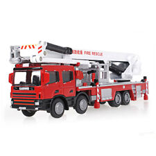 1:50 Scale Diecast Aerial Fire Truck Construction Vehicle Cars Model Toys gift