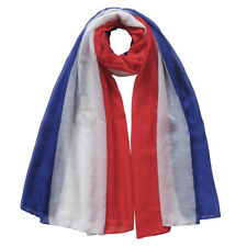 UNISEX SCARF SHAWL WRAP LIGHTWEIGHT - Tricolour Flag of France Netherlands