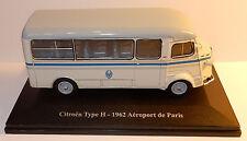 RARE ELIGOR HACHETTE N°30 CITROEN TYPE H 1962 NAVETTE AEROPORT DE PARIS 1/43