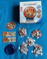 SANTA'S MIDNIGHT SNACK 240 Piece Christmas Puzzleball Jigsaw by RAVENSBURGER