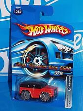 Hot Wheels 2006 DropStars Series #058 Blings Mercedes-Benz G500 Orange