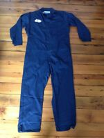 Big Bill Mechanic Coveralls Jumpsuit Blue  52R Reg with Long Sleeves HRC2