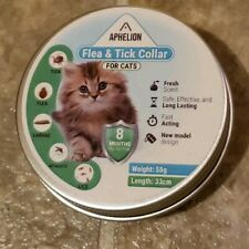 Aphelion Cat Flea And Tick Prevention Control Adjustable Collar 8 Month