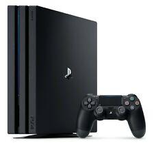 Sony PlayStation 4 Pro 1TB 4K Console Jet Black, Full Warranty + 3 Bonus Games