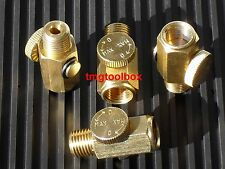 4 PCS SOLID BRASS AIR  PRESSURE REGULATOR 1/4 NPT, PAINT GUNS AIR TOOLS COUPLER