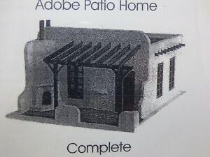 Dollhouse Kit 1/144 Scale - The Adobe House