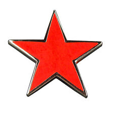 Pin Roter Stern 15 mm Anstecknadel Anstecker