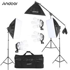 Photography Studio Light Continuous Lighting Lamp Softbox Tripod Stand Kit B3M1